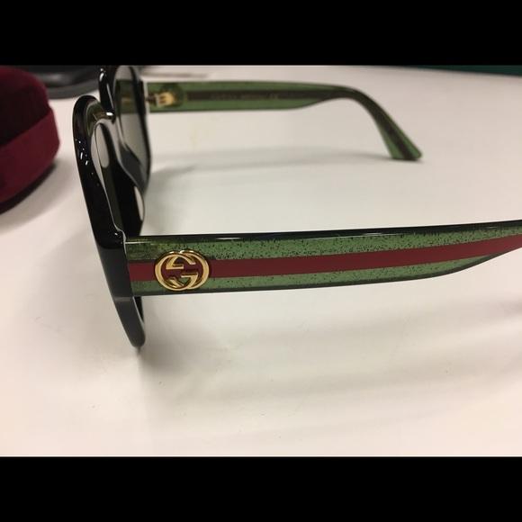 797031836bb Gucci Accessories - Authentic Gucci GG black square sunglasses 2018